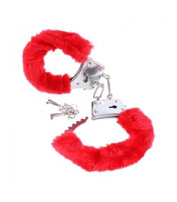 Beginner's Furry cuffs Red